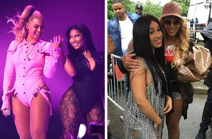 Has Beyonce picked a side in  Cardi B and Nicki Minaj feud?