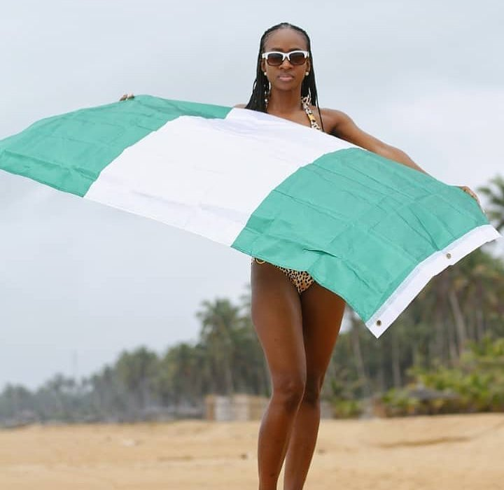 Anto celebrates Nigeria's independence with bikini photo