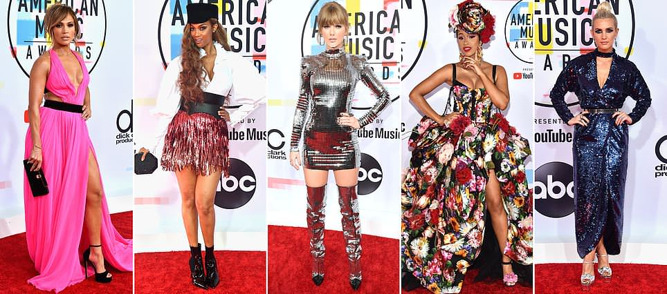American Music Awards 2018 : Best dressed celebrities