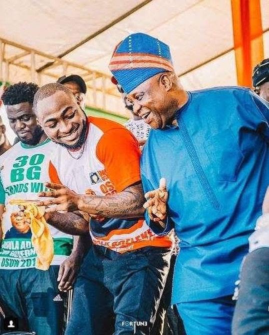 Davido shuts down rumours of uncle,Adeleke's death
