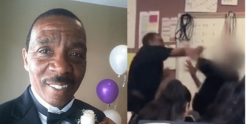 $100K raised for California teacher who punched student