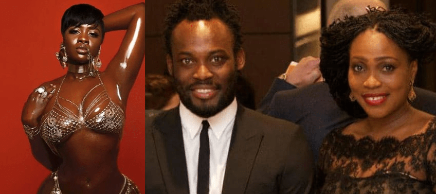 Princess Shyngle mocks Micheal Essien's wife for dumping him over her