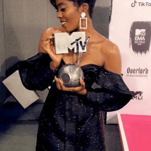 Tiwa Savage wins MTV EMAs 2018