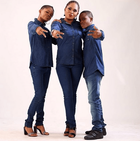 Mind your business! – Regina Chukwu slams those gossiping about her and her kids