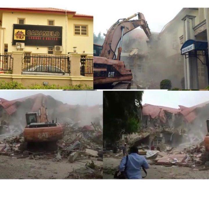FG demolishes Carmelo night club in Abuja