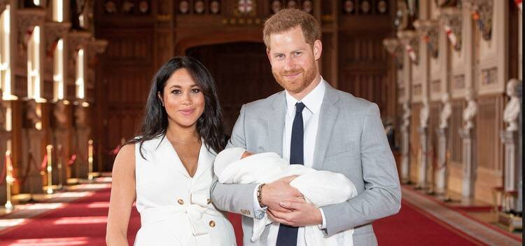 Meghan Markle and Prince Harry Introduce Their Royal Baby to the World