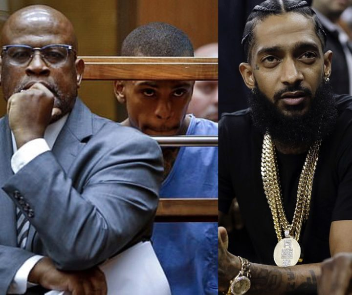 Nipsey Hussle's murder case-Lawyer representing Eric Holder withdraws over threats to family