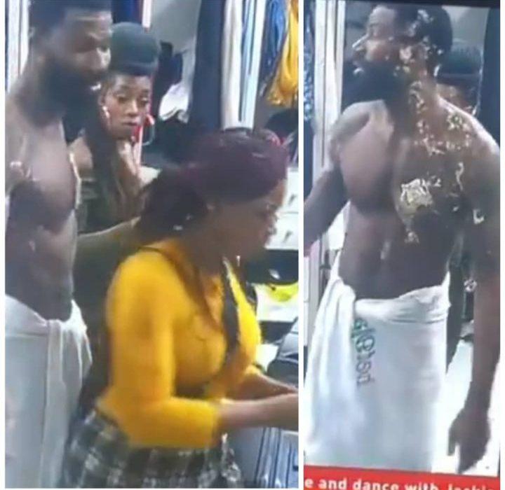 #BBNaija: Uti Nwachukwu, Juliet Ibrahim, Lilian Afegbai react to video of Tacha hurling insults and pushing Mike