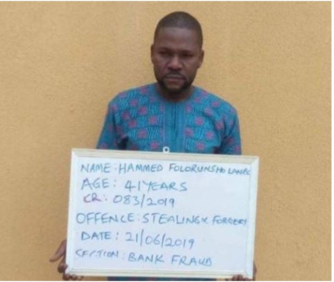 Civil Engineer Jailed For Transferring N540k From His Friend's Phone (Photo)