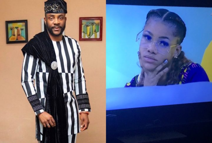 #BBNaija: Nigerians React Over Ebuka's Questions For Tacha During Eviction Show