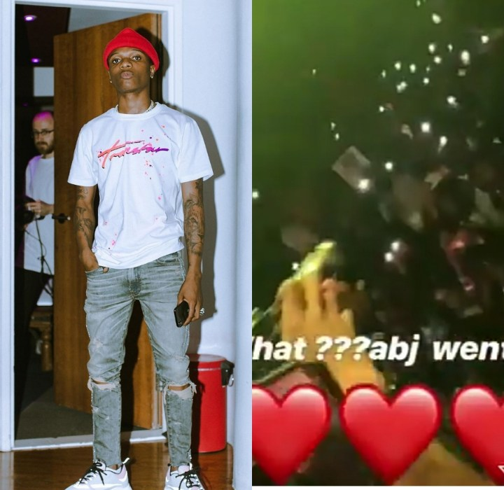"""Wizkid Perfoms """"Brown Skin Girl"""" for the First Time on Stage in Abuja (Video)"""