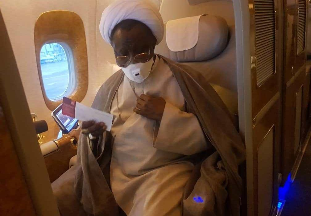 Just In: El-zakzaky, Wife Arrive Nigeria