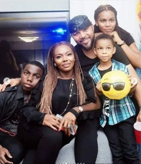 Check Out Ramsey Noah's Wife, Daughter And Sons (Photo)