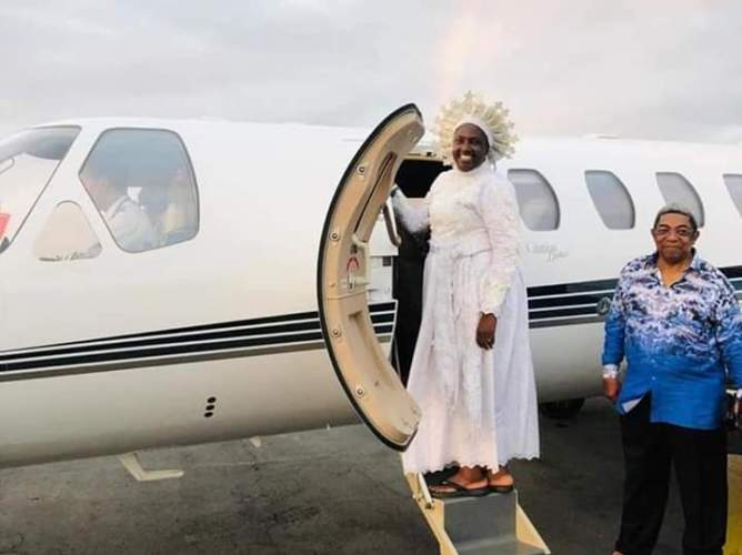 Reverend Mother Abimbola Esther Ajayi Acquires A Private Jet (photos)