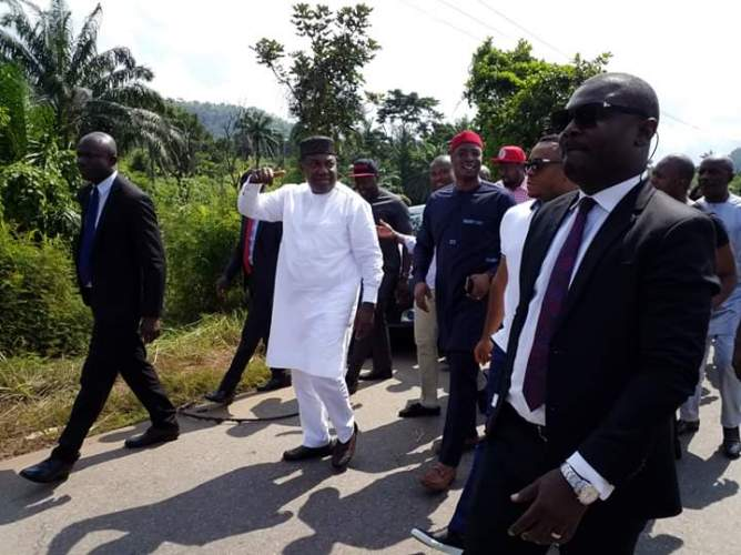 Insecurity: Ugwuanyi Begins Clearing Of Bushes Used As Criminal Hideouts (photo)