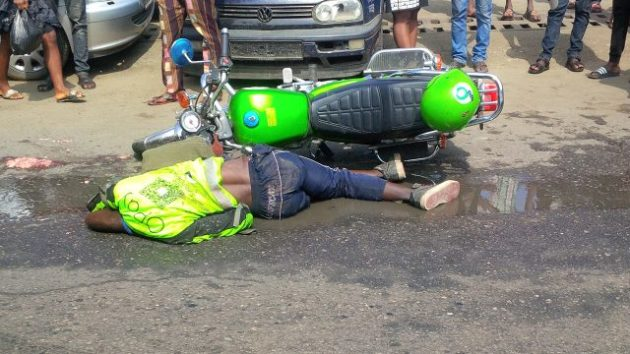 Truck crushes ORide motorcycle operator to death