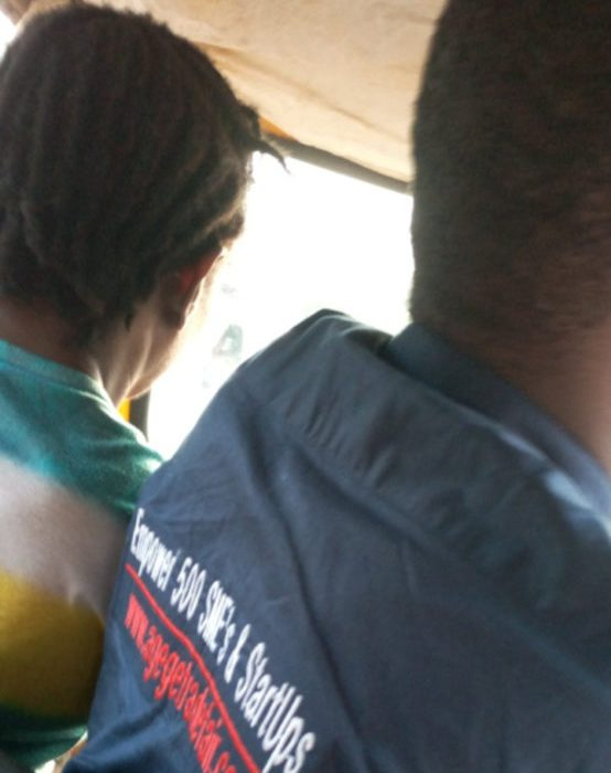 Man narrates his experience with a female Keke driver being bullied by her male colleagues