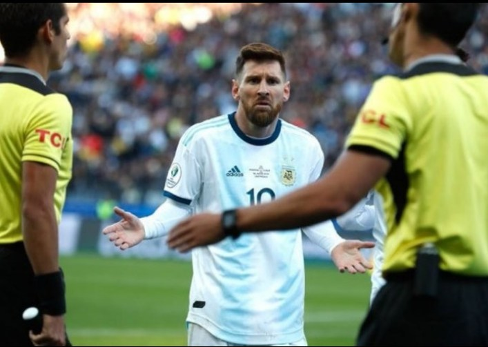 Messi Banned From Playing For Argentina For 3 Months, $50,000k