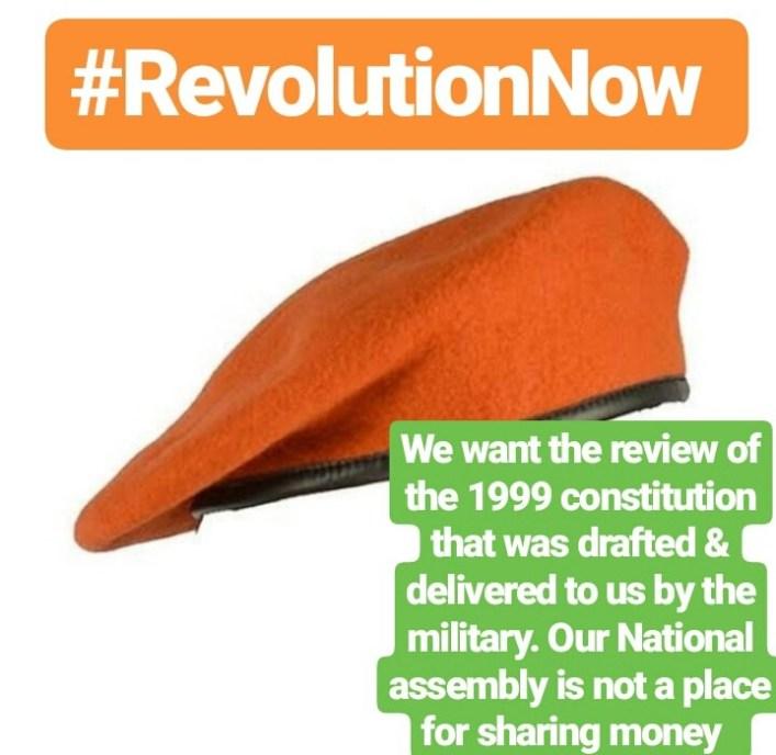 "IGP Adamu Warns Against 'Revolution Now', Calls It ""Treasonable Felony"""