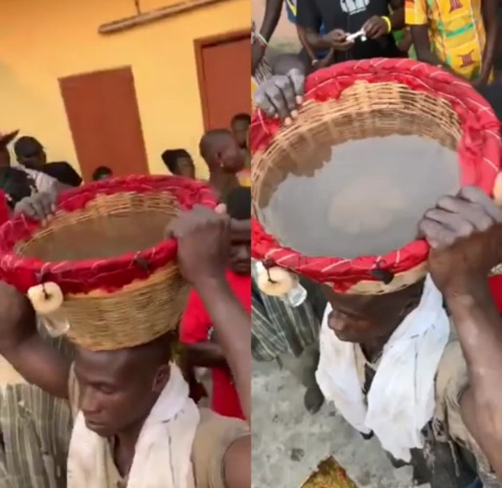 'Man Fills A Basket With Water' – They Said It's Voodoo (Video)