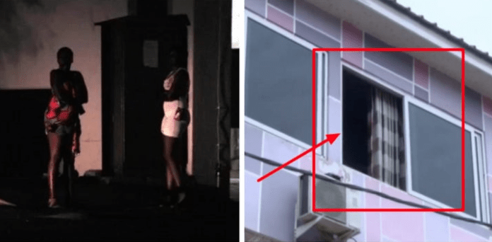 Man pushed to death from brothel window by prostitute, see video ...