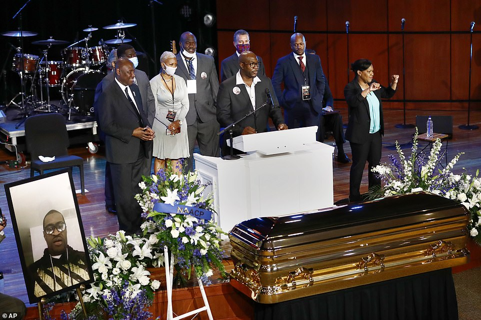 More Photos From George Floyd U0026 39 S Memorial Service In Us As