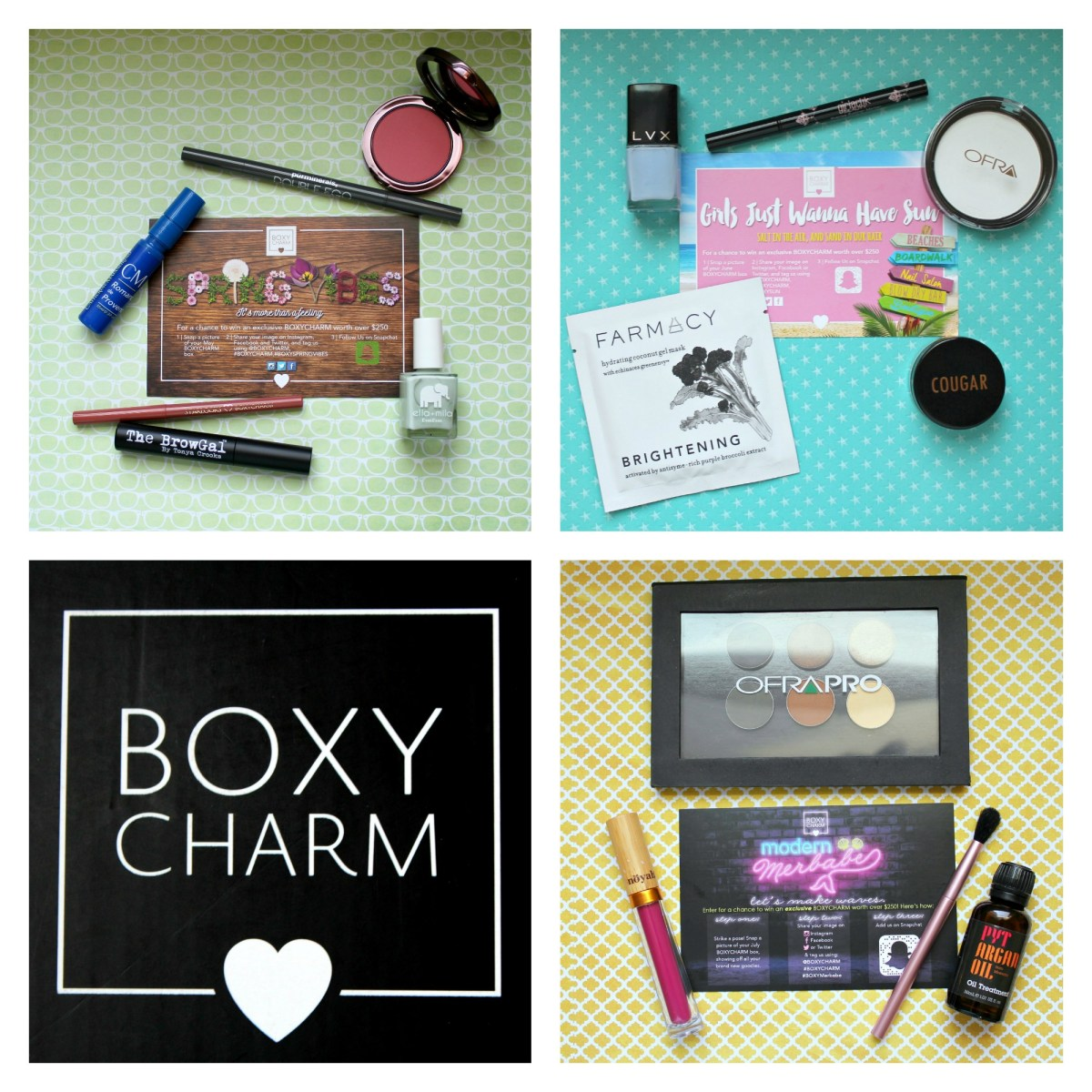 Battle of the Beauty Boxes Round Two: Boxycharm!