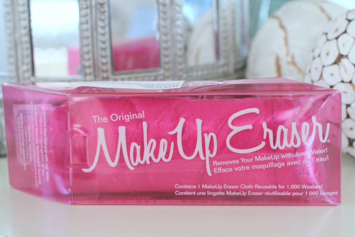 Remove your makeup with just water with the all natural Makeup Eraser!