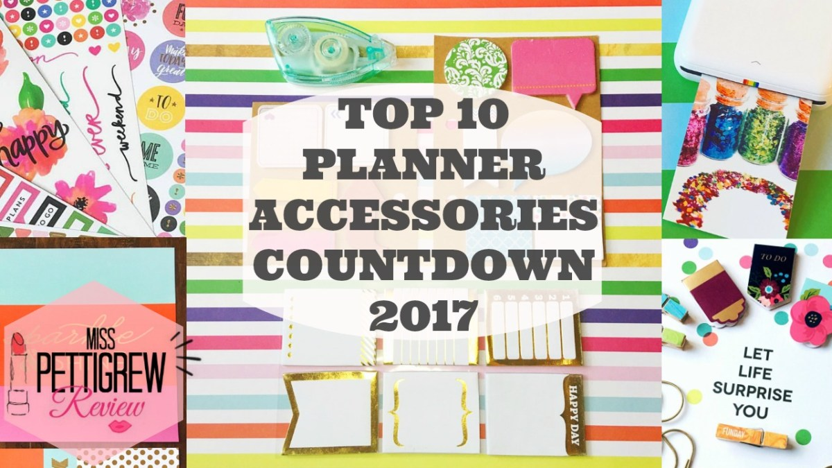 Top 10 Planner Supplies for Happy Planner Organization Video Review!