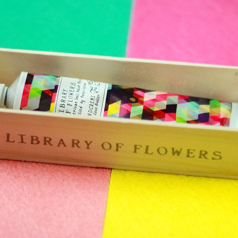 Library of Flowers Handcreme, hand creams review