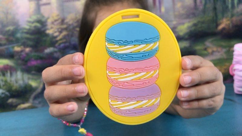 Blippo Kawaii cookie luggage tag