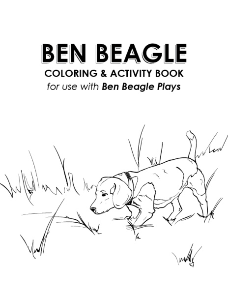 ben beagle coloring activity book - Coloring And Activity Books
