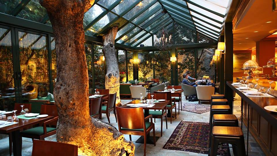 Sunday Lunch at Herodion Hotel, Athens