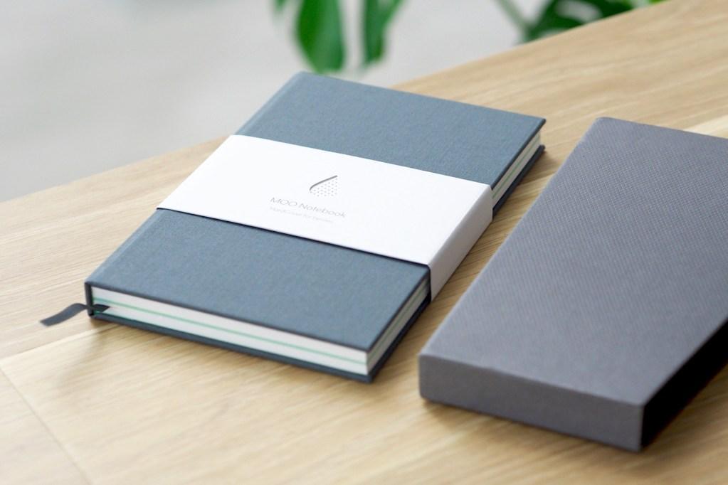 MOO vs Moleskine Notebook Review