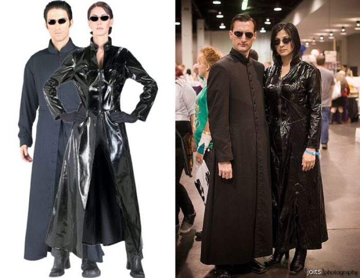 Matrix Halloween Costume