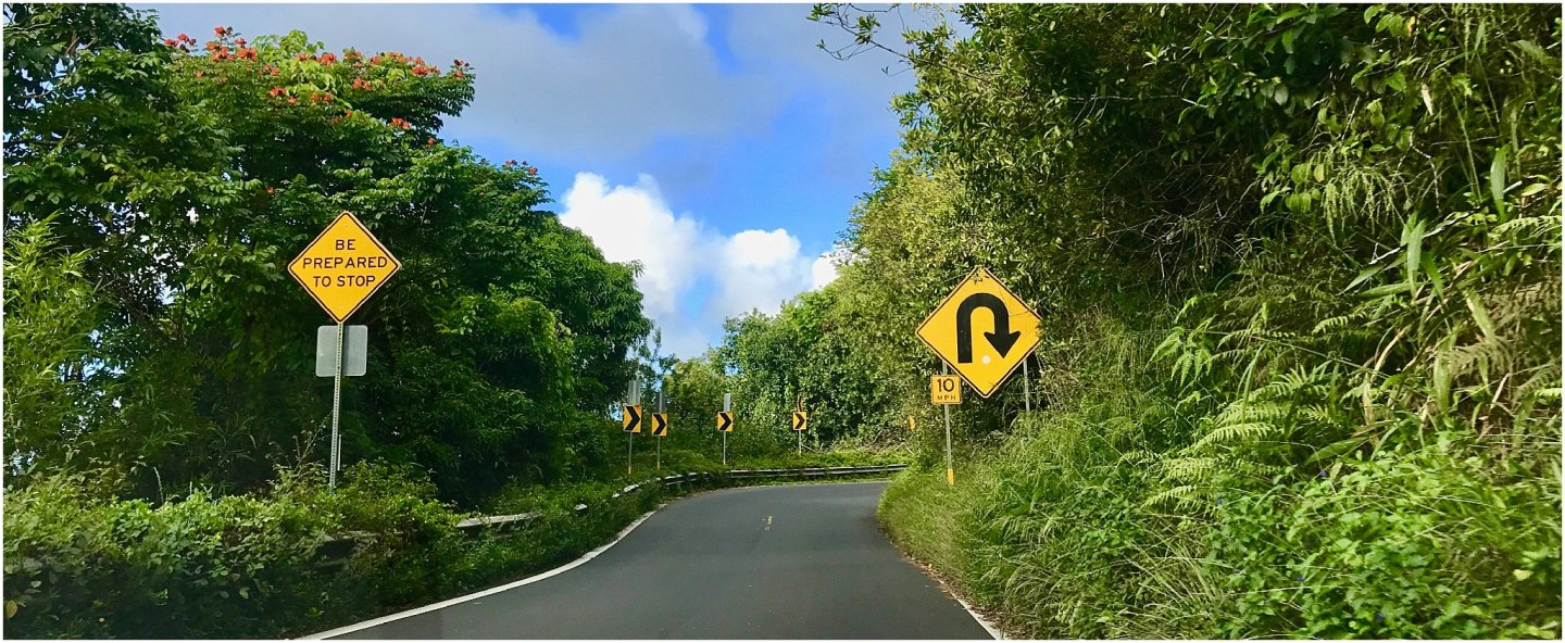 Driving Hana Highway The road to Hana maui - Road or destination? Guest Post by Lara Olivia Miss Portmanteau? Club Elsewhere - The World's Travel Diary edited by Rosie Bell