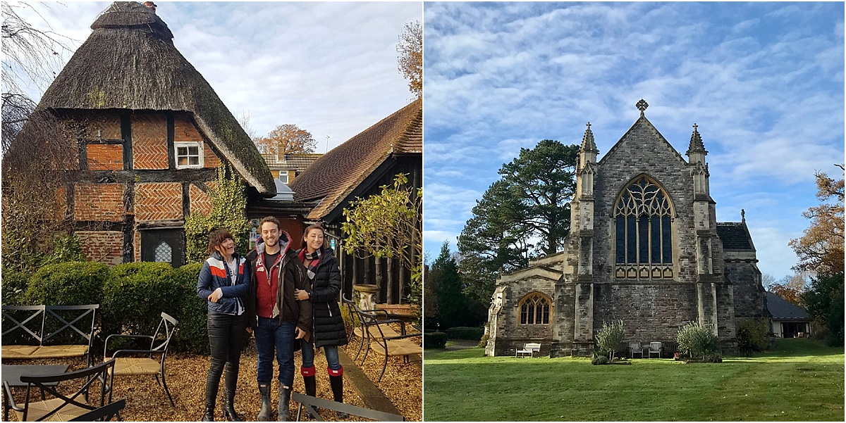 Churches and Thatched Houses in Brockenhurst