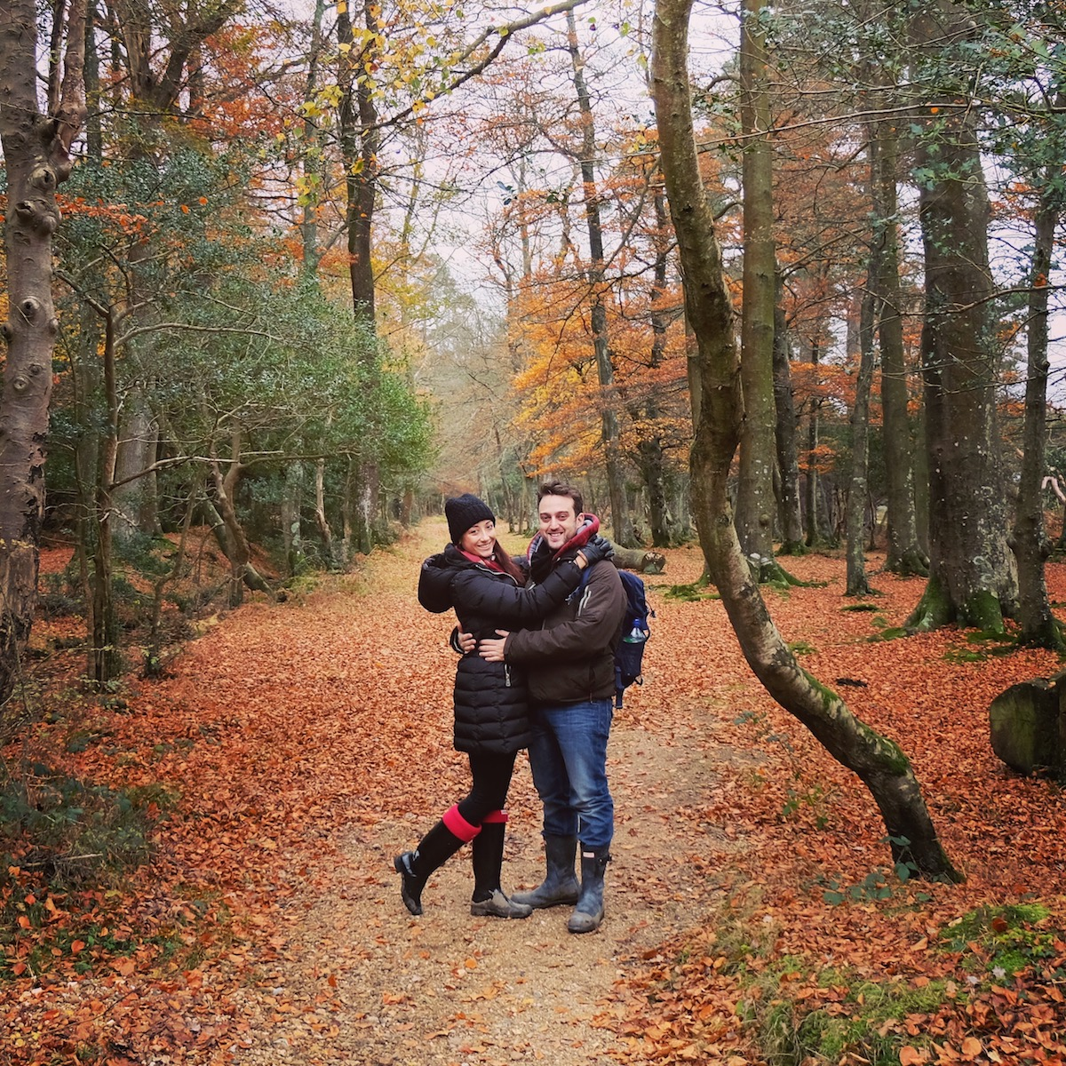 Mr and Miss Portmanteau in New Forest