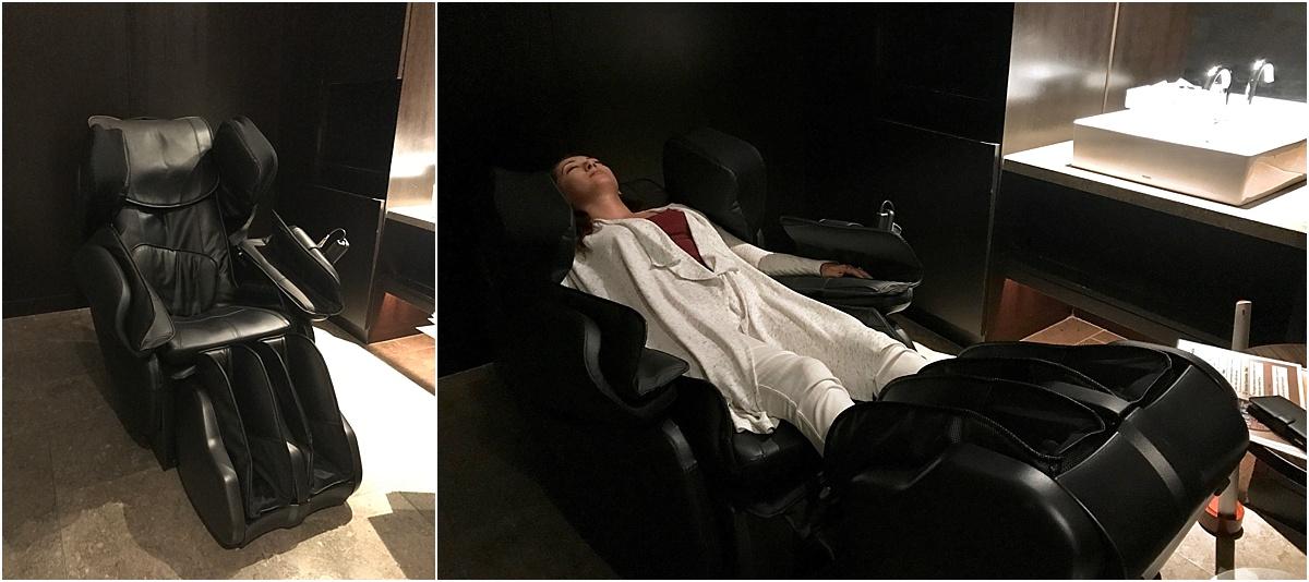 First Class Lounge Massage Chair