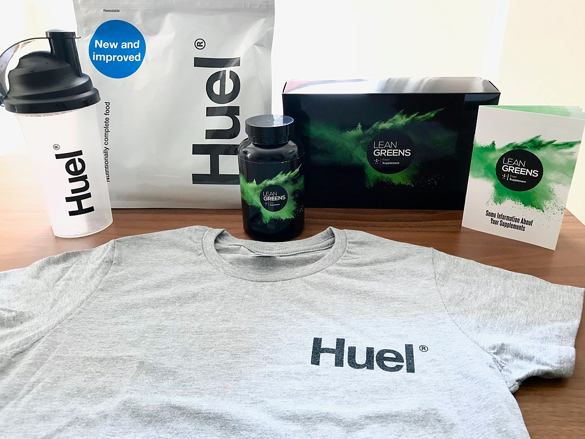 Lean Greens Huel Starter Pack