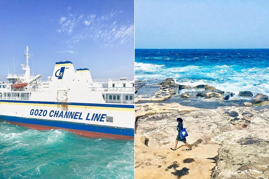 Malta Sea Gozo Ferry