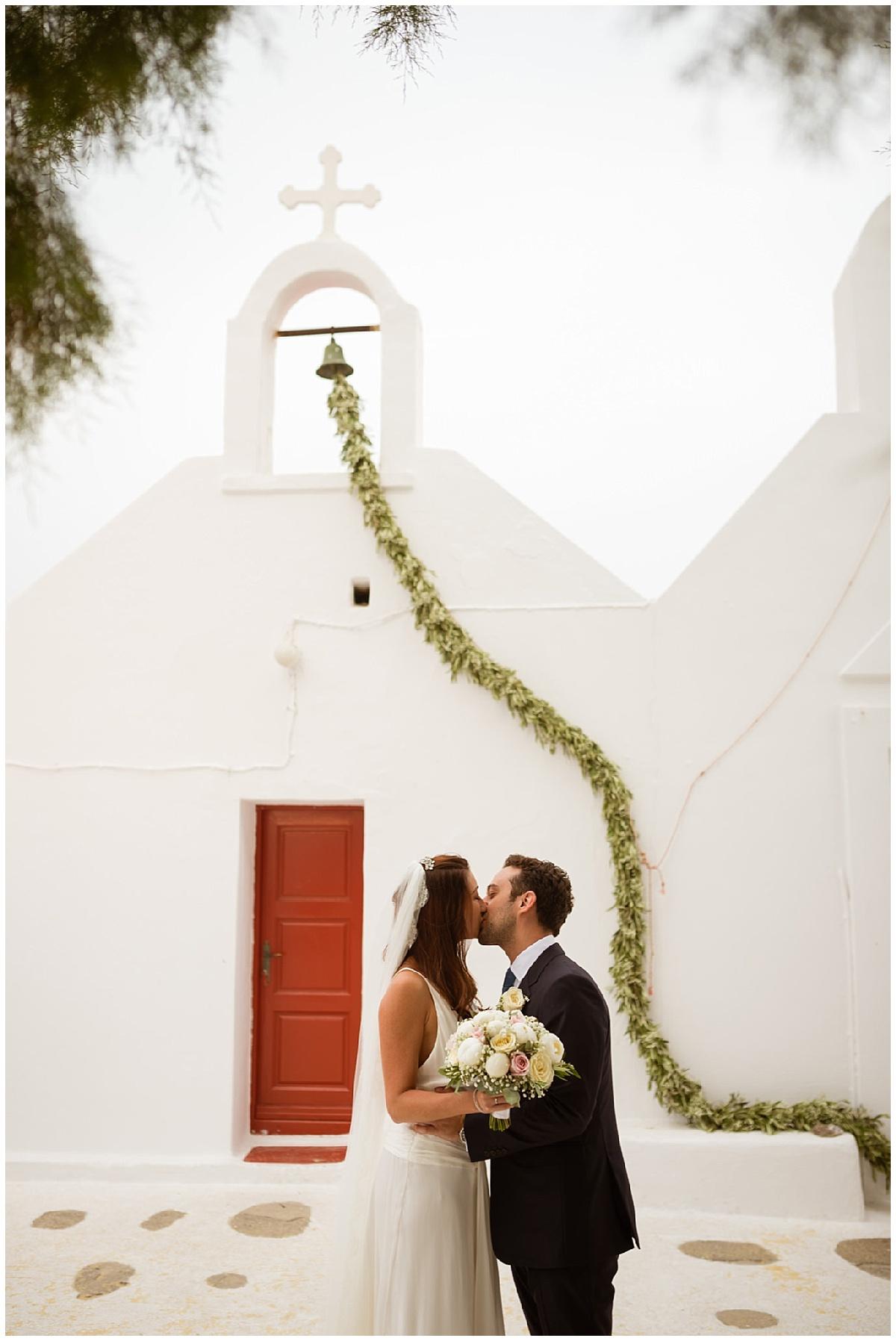 Mykonos Newlyweds