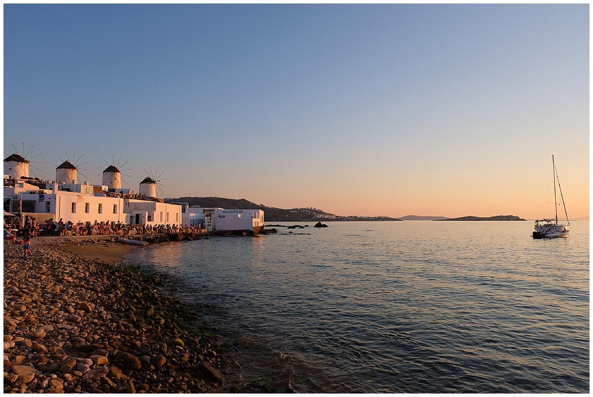 Mykonos Town Chora Sunsets