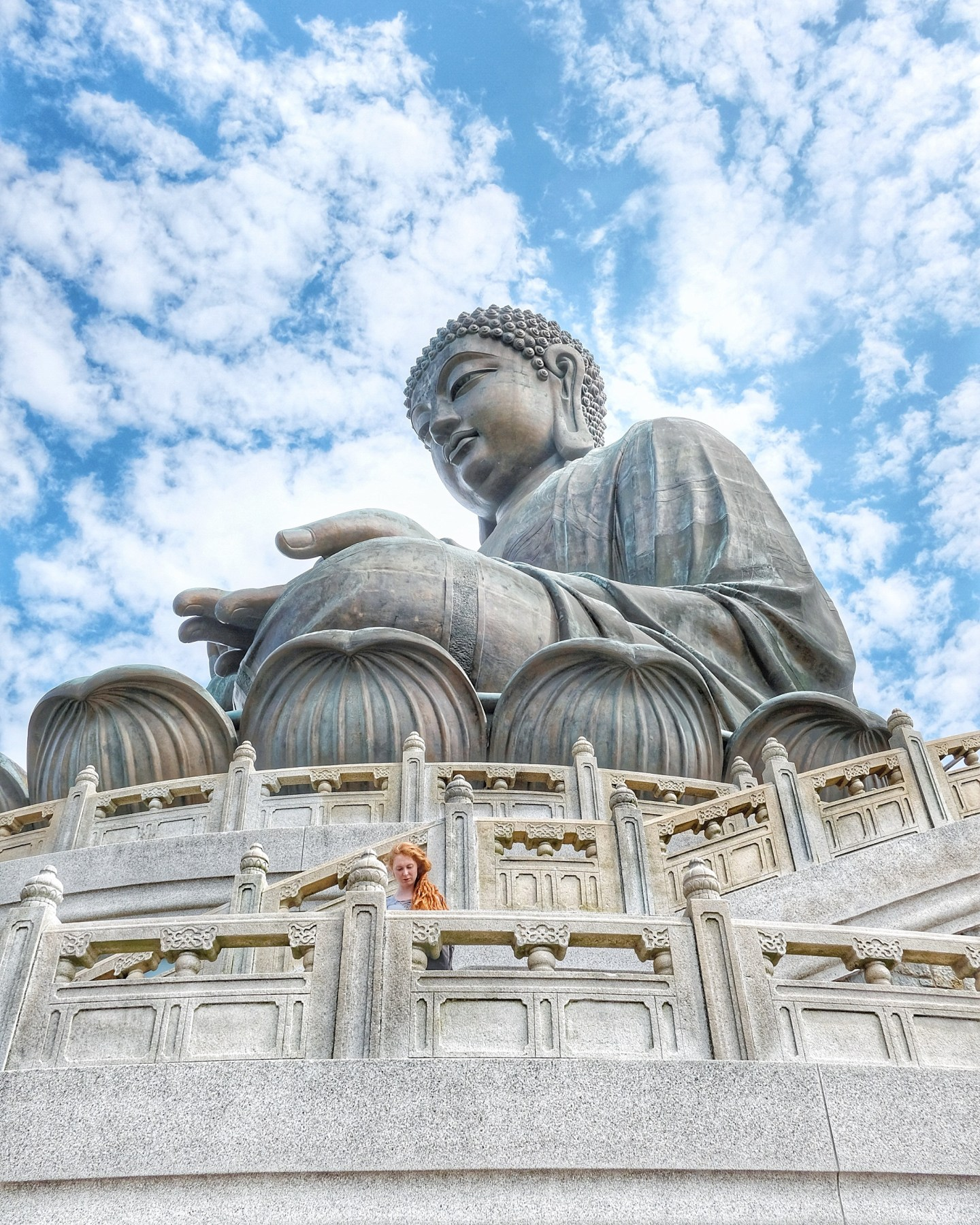 A Not So Solo Trip to Big Buddha, Hong Kong