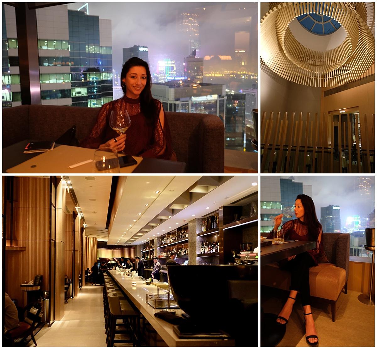 Cafe Grey Deluxe Bar Hong Kong