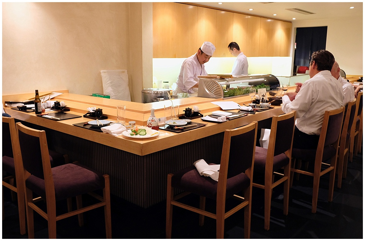 Kiku sushi counter London