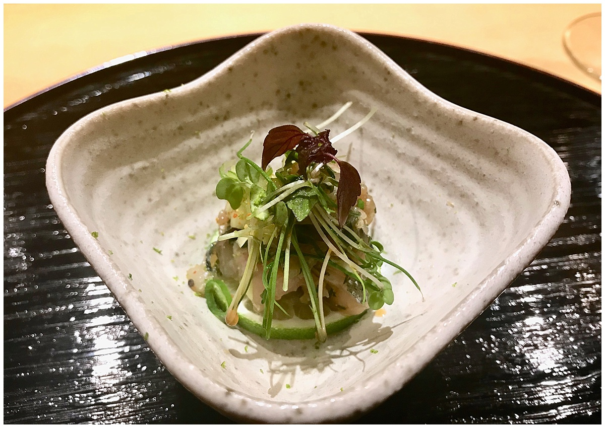 Sushi Tetsu horse mackerel