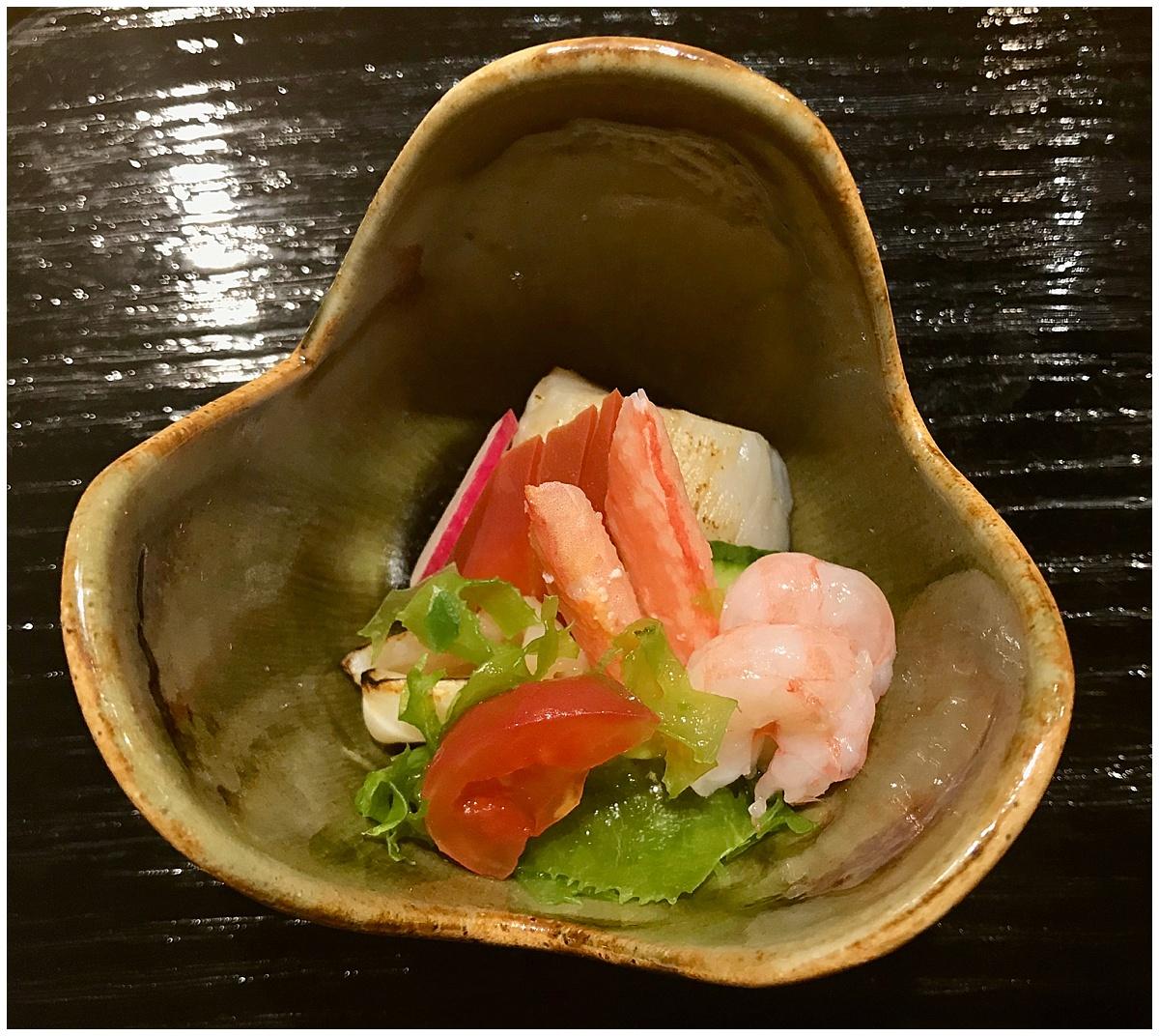 Sushi Tetsu shellfish sashimi