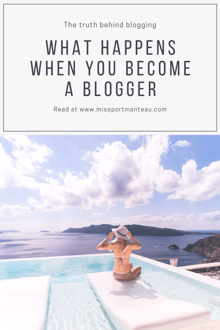 what happens when you become a blogger