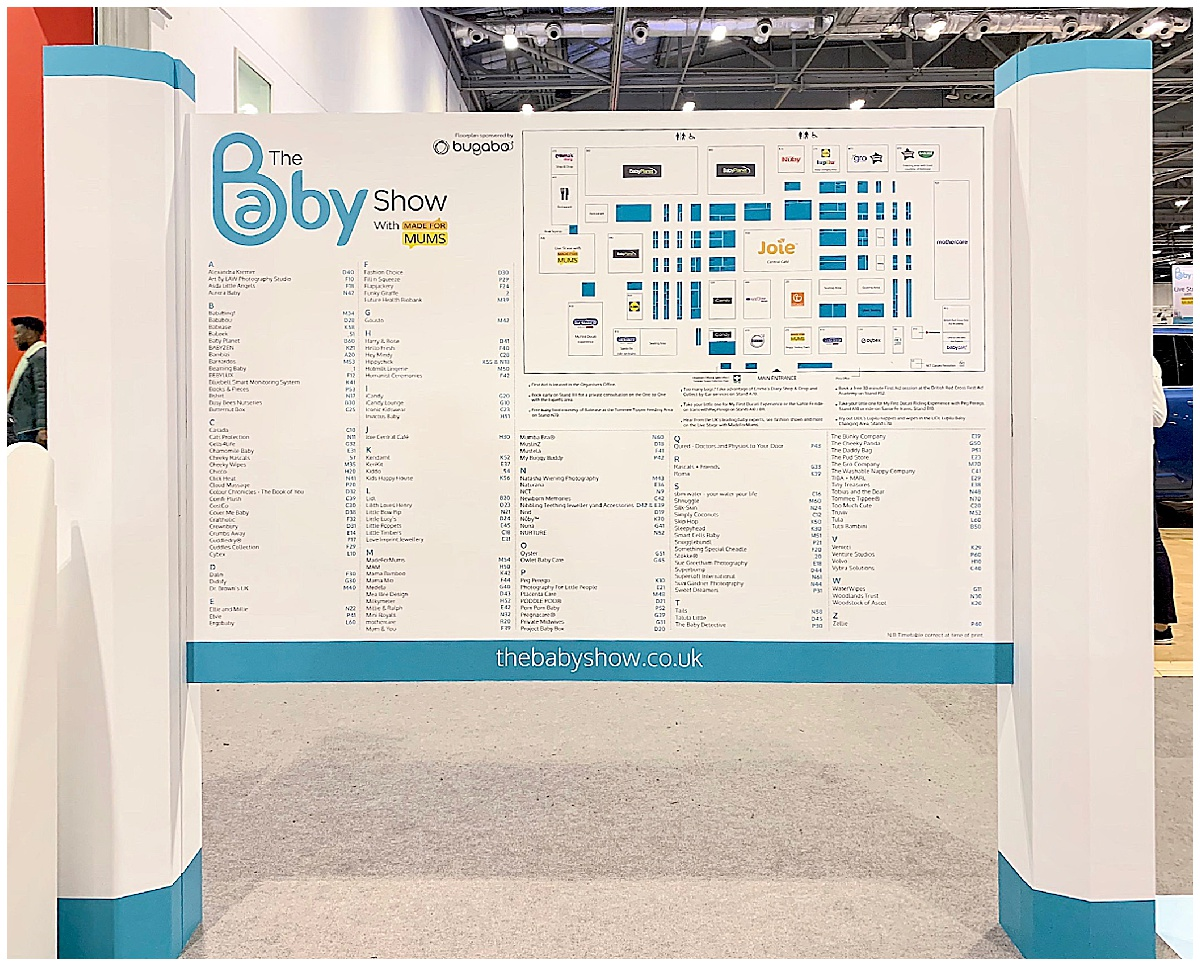 Baby Show Map